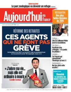 Aujourd'hui en France - 30 Décembre 2019