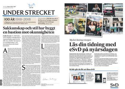 Svenska Dagbladet – 31 december 2017