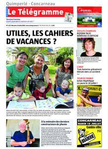 Le Télégramme Concarneau – 14 juillet 2019