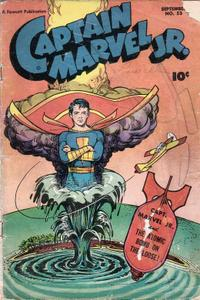 [1947-09] Captain Marvel Junior 053 37 pages, some B&W repost