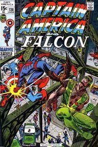 Captain America v1 138 Complete Marvel DVD Collection