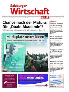 Salzburger Wirtschaft – 22. März 2019