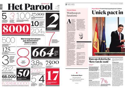 Het Parool – 31 december 2019