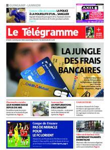 Le Télégramme Guingamp – 20 janvier 2020