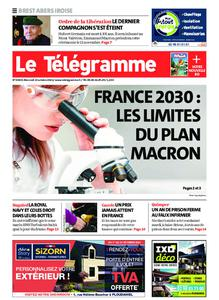 Le Télégramme Brest Abers Iroise – 13 octobre 2021