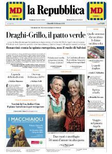 la Repubblica - 11 Febbraio 2021