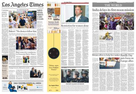 Los Angeles Times – July 15, 2019