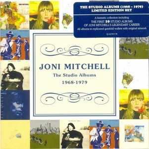 Joni Mitchell - Studio Albums 1968-1979 (2012) [10CD Box Set]
