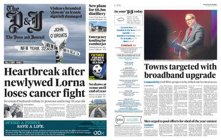 The Press and Journal Moray – July 30, 2020