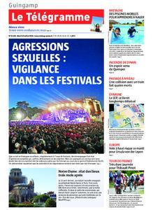 Le Télégramme Guingamp – 16 juillet 2019