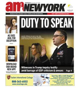 AM New York - November 20, 2019