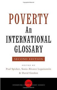 Poverty: An International Glossary, Second Edition (International Studies in Poverty Research)