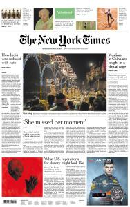 International New York Times - 25-26 May 2019