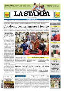 La Stampa Torino Provincia e Canavese - 20 Ottobre 2018