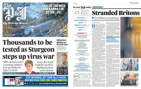 The Press and Journal Moray – March 31, 2020