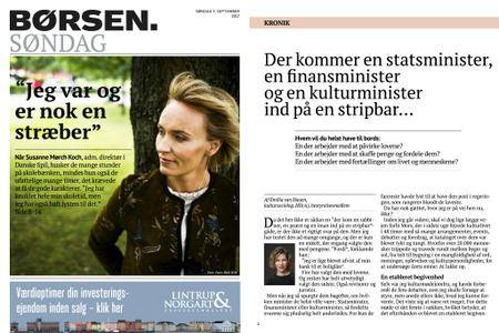Børsen – 03. september 2017