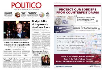 Politico – June 20, 2019