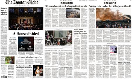 The Boston Globe – November 01, 2019