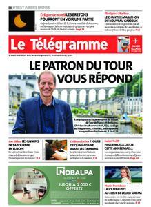 Le Télégramme Brest Abers Iroise – 10 juin 2021