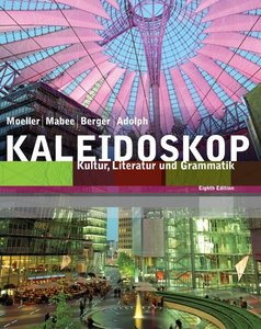 Kaleidoskop: Kultur, Literatur und Grammatik, 8 edition