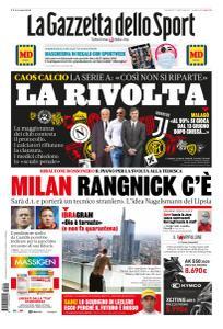 La Gazzetta dello Sport con edizioni locali - 15 Maggio 2020