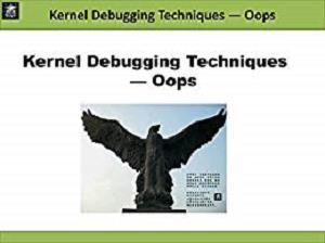 Kernel Debugging Techniques - Oops (Linux Driver Development)