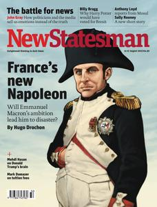 New Statesman - 11- 17 August 2017