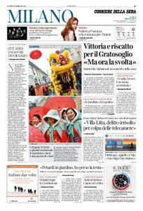 Corriere della Sera Milano – 11 febbraio 2019