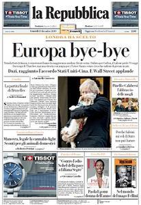 la Repubblica - 13 Dicembre 2019
