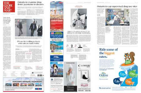 The Globe and Mail – October 23, 2018