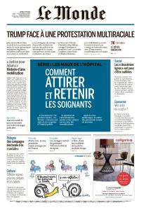 Le Monde du Mardi 9 Juin 2020