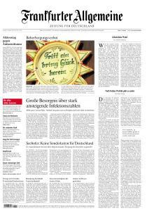 Frankfurter Allgemeine Zeitung - 9 Oktober 2020