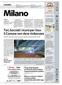 la Repubblica Milano - 15 Novembre 2018