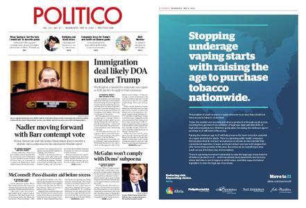 Politico – May 08, 2019