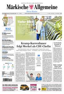 Märkische Allgemeine Dosse Kurier - 08. Dezember 2018