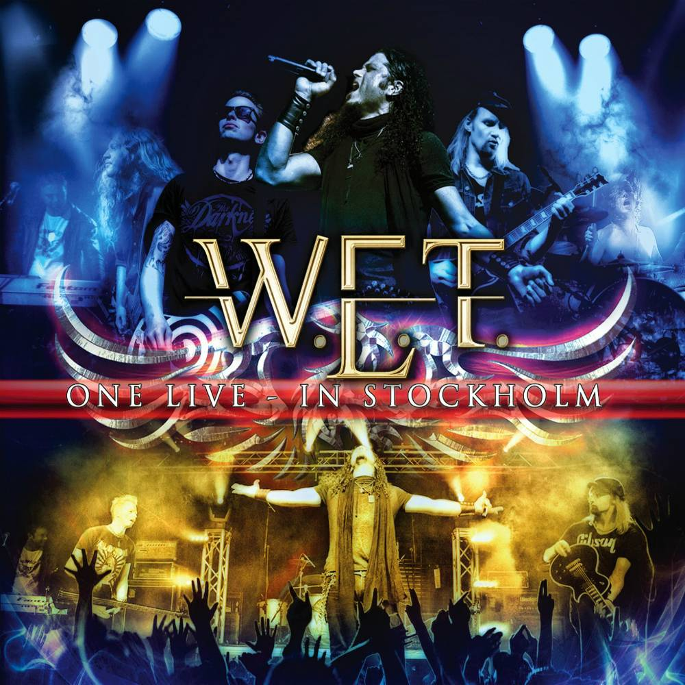 W.E.T. - One Live - In Stockholm (2014) 2CD+DVD Box Set
