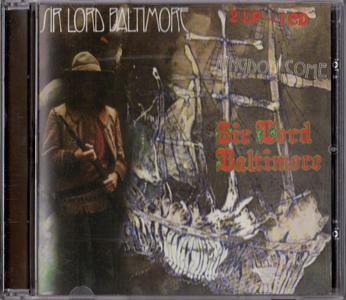 Sir Lord Baltimore - Kingdom Come & Sir Lord Baltimore (1994) {2003, Reissue} 2LP –> 1CD