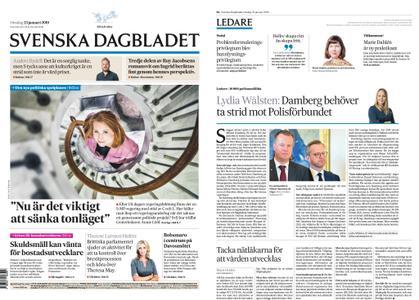 Svenska Dagbladet – 23 januari 2019