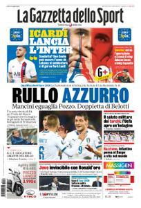La Gazzetta dello Sport Roma – 16 ottobre 2019