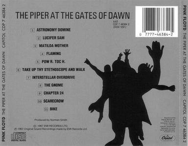 Pink Floyd - The Piper At The Gates Of Dawn (1967) {1987 Capitol US} *[RE-UP]**