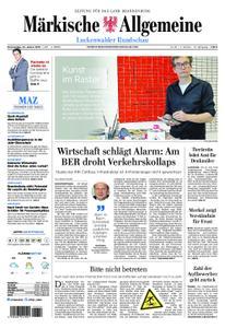 Märkische Allgemeine Luckenwalder Rundschau - 24. Januar 2019