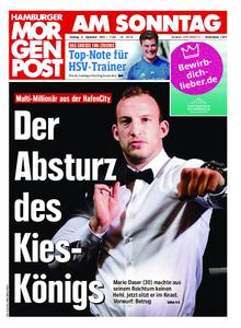 Hamburger Morgenpost – 08. September 2019