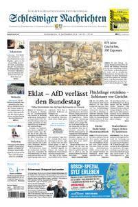 Schleswiger Nachrichten - 13. September 2018