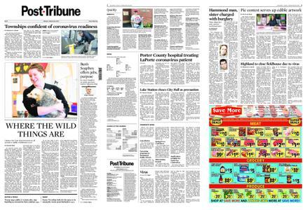 Post-Tribune – March 16, 2020