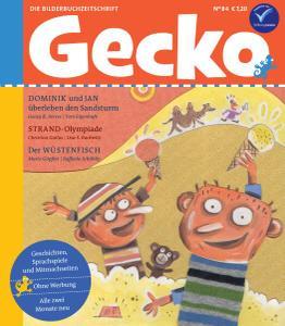 Gecko Nr.84 - Juli-August 2021