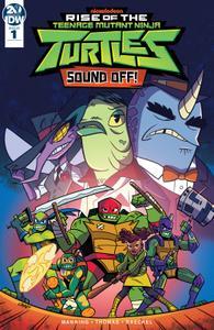 Rise of the Teenage Mutant Ninja Turtles-Sound Off! 001 2019 digital Raphael
