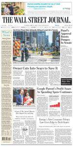 The Wall Street Journal - April 24, 2018
