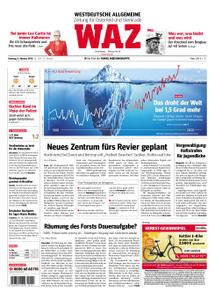 WAZ Westdeutsche Allgemeine Zeitung Oberhausen-Sterkrade - 09. Oktober 2018