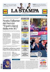 La Stampa Torino Provincia e Canavese - 20 Dicembre 2019