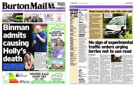 Burton Mail – October 09, 2018
